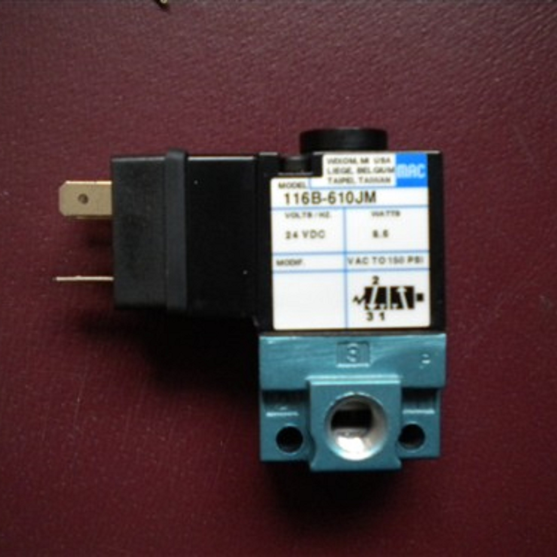 美国MAC电磁阀应用范围