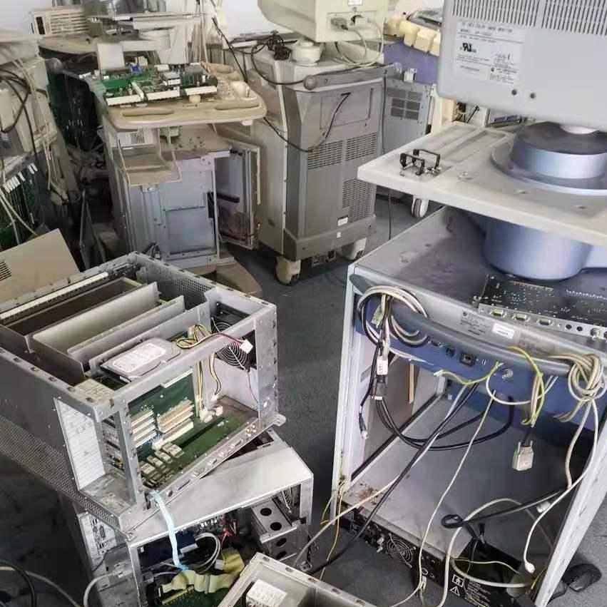 飞利浦彩超机开机无法进入系统画面上门修理