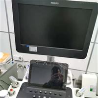 飞利浦彩超机开机电源黄色指示灯亮故障修理