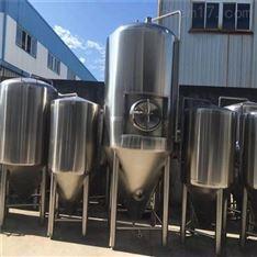 二手500L自釀啤酒設備發酵罐