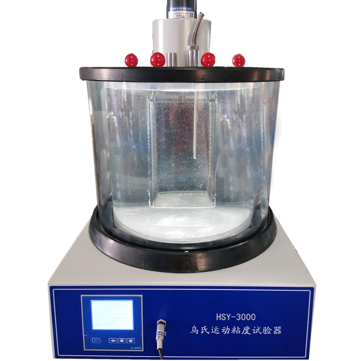 HSY-3000乌氏运动粘度试验器(双缸四孔型)