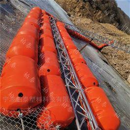 FT600*1000水上塑料浮体拦污浮力带垃圾拦截漂排浮筒