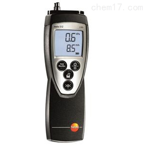 德图testo 512 - 差压测量仪,0~2000hPa