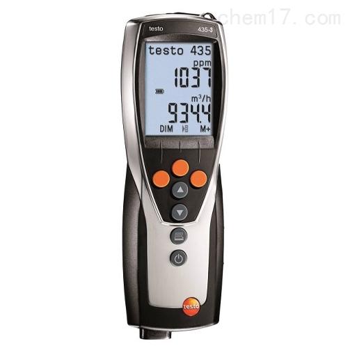 德图testo 435-3 - 多功能测量仪