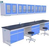实验室家具公司-通风系统工程-钢木实验台
