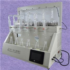QYZL-6B实验室氨氮蒸馏装置 多功能玻璃蒸馏仪