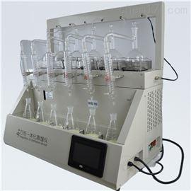 QYZL-6B上海乔跃氨氮蒸馏装置 挥发酚的测定