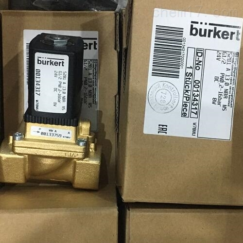 参考数据BURKERT先导式电磁阀