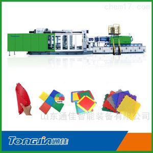 悬浮式拼装地板生产设备