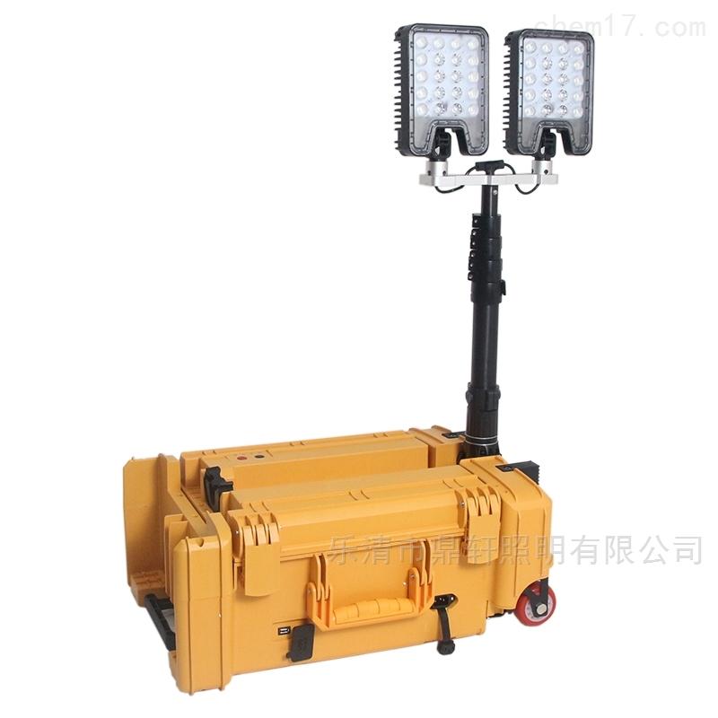 新品移动照明系统120W升降工作灯防汛抢修灯