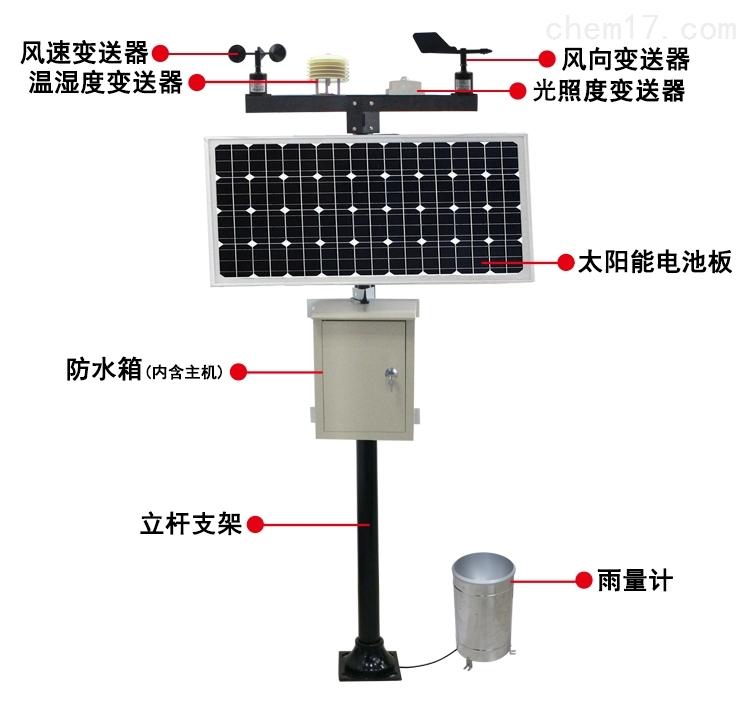 專業氣象監測儀器制造商高智能氣象站