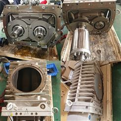 莱宝镀膜机WH4400罗茨泵维修