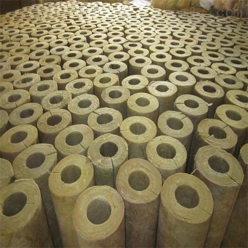 防火铝箔贴面岩棉管厂家直供