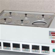 数显恒温磁力搅拌油浴锅(六孔)