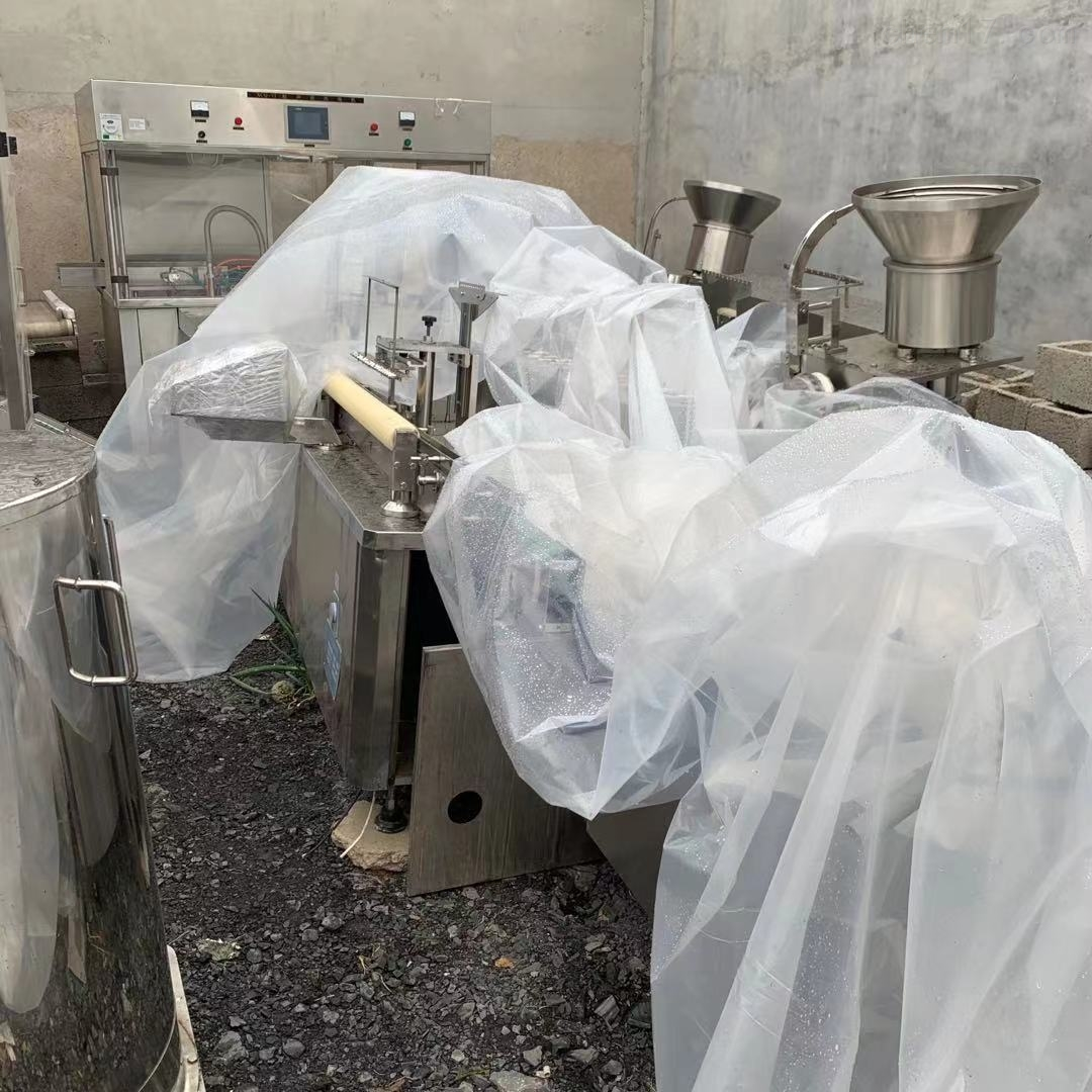 二手DGSX12型西林瓶灌装加塞机