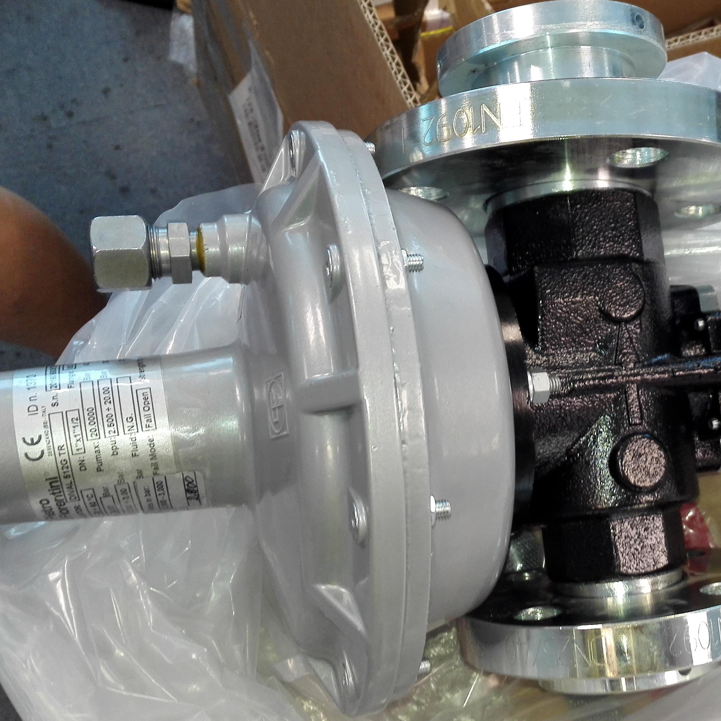 Pietro燃气减压阀DIVAL512/G 180TR DN25x50
