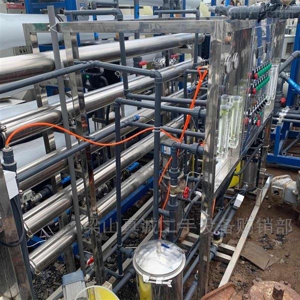 二手2T/每小时双机反渗透水处理 纯水机