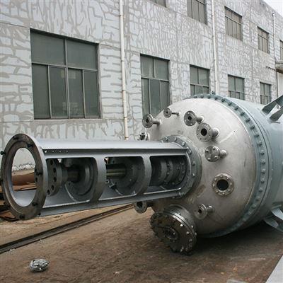 500L医药行业常见工艺的聚酯缩聚真空反应釜