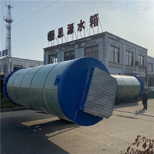 雨水一體化預制泵站的使用說明