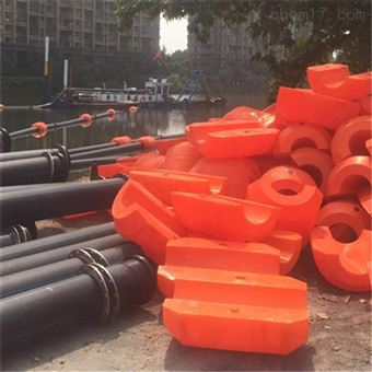 FT600*1000河道垃圾拦截水上浮体聚乙烯拦污截污浮筒