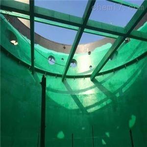 FC-3脱硫塔耐高温玻璃鳞片胶泥耐温极限是多少