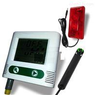 M402157外置温湿度记录仪带声光报警