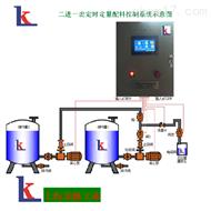 二路配料灌装定量控制系统