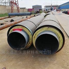 景泰县钢套钢复合直埋岩棉保温管