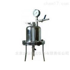 不锈钢桶式正压过滤器  小容量科研医院实验室不锈钢桶式正压过滤器