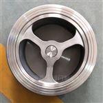 H71W不锈钢对夹升降式止回阀