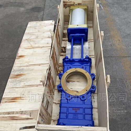 SCZ673H气动穿透式闸板阀