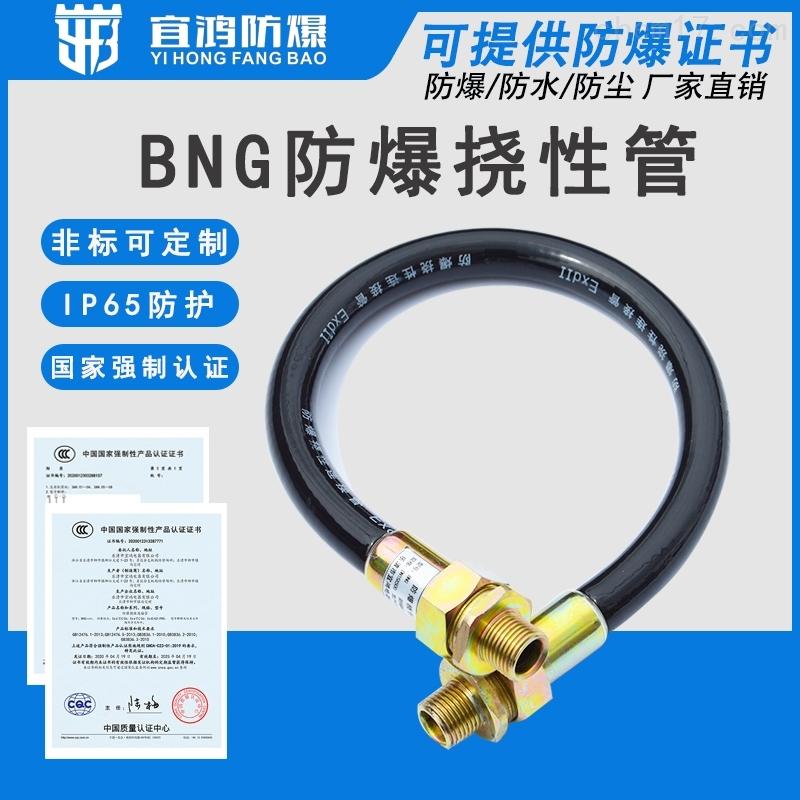 温州防爆挠性管BNG-DN50*500双内