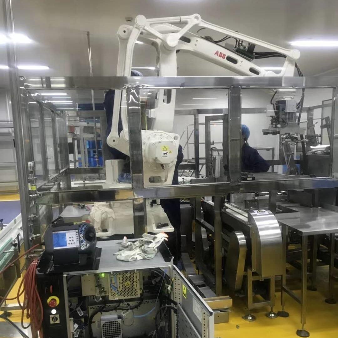 ABB机器人示教器开机显示白屏处理维修方法