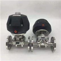 气动卫生级快装隔膜阀