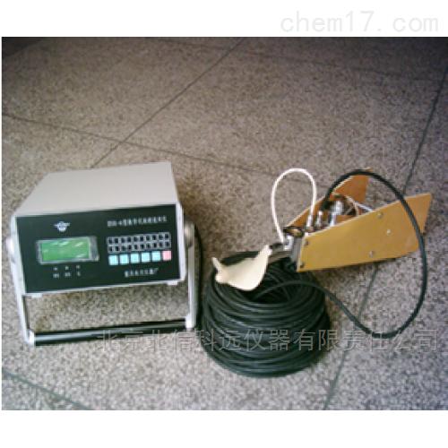 便携式流速仪 数字式水流速度测量仪 涡轮式流速计 沟渠管道水流速监测仪 江河溪流流速检测仪