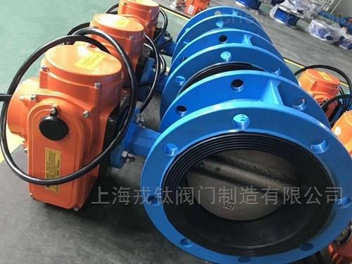 IP68防水潜水型电动蝶阀