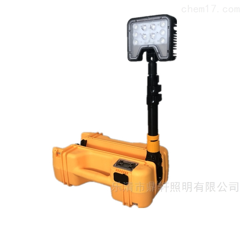 充电式LED轻便升降移动灯电量显示 生产厂家