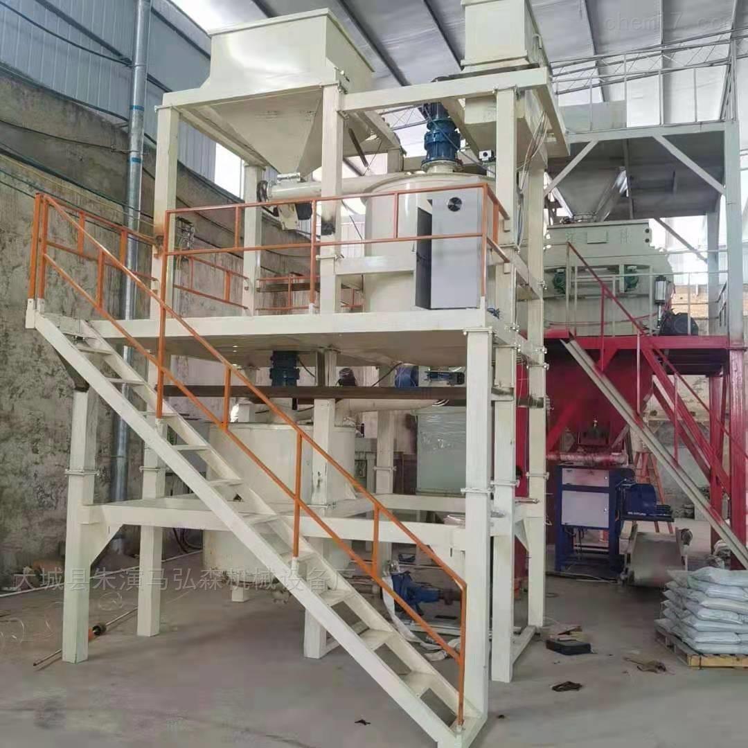 发泡水泥保温板全自动二层搅拌系统价格