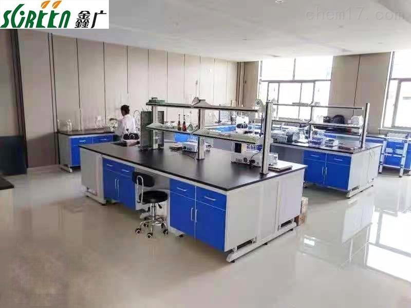 山东钢木实验台边台,物理实验桌化验室