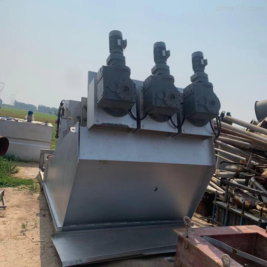 二手403叠片螺旋式污泥脱水机