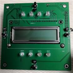 硫化氢分析仪显示板