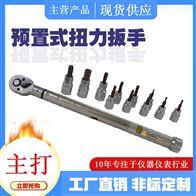 棘輪頭預置扭矩扳手汽車螺栓拆卸雙向棘輪
