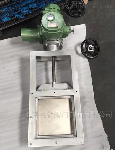 LMD电动螺旋闸门