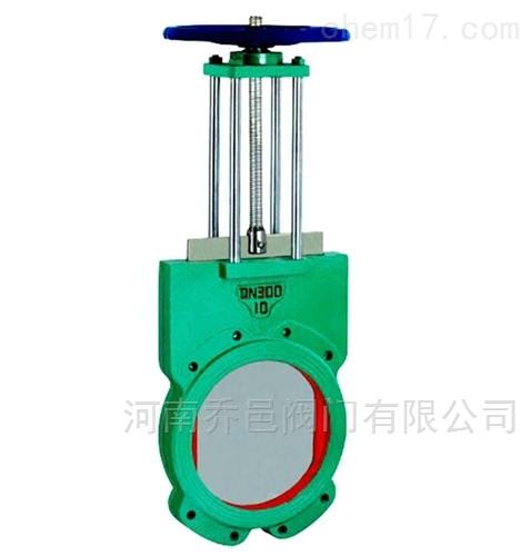 电动对夹浆液阀
