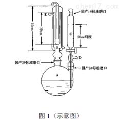 HSY-2331A二氧化硫残留量测定玻璃装置