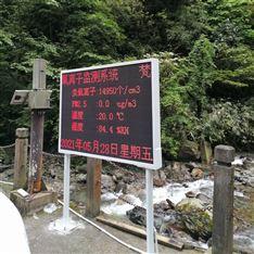 贵州森林基地负氧离子监测系统