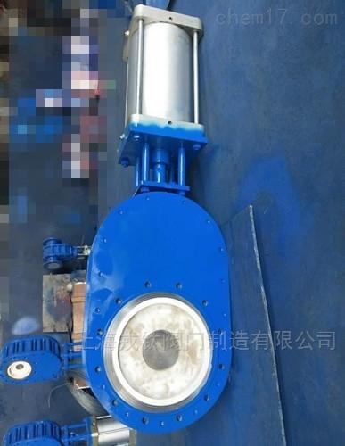 气动陶瓷双闸板闸阀