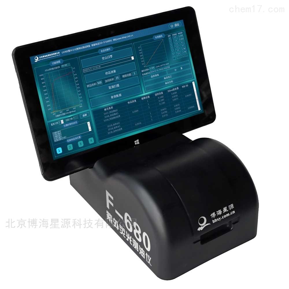 手持式荧光测油仪
