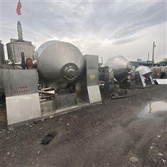 二手不锈钢回转真空双锥干燥机低价出售