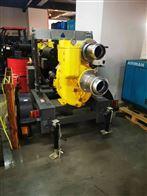 6寸便携式柴油机移动排涝泵车